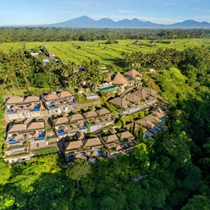 Bali Honeymoon Packages Viceroy Bali Aerial View