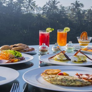 Bali Honeymoon Packages Viceroy Bali Breakfast With A View
