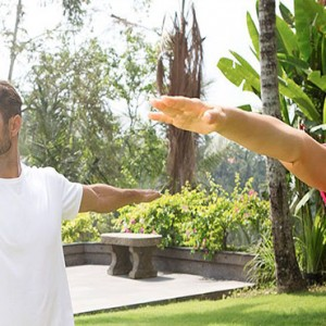 Bali Honeymoon Packages Viceroy Bali Couple Yoga