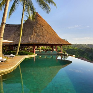 Bali Honeymoon Packages Viceroy Bali Main Pool Daytime