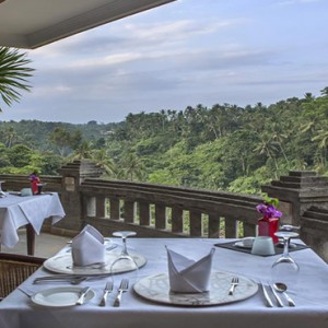 Bali Honeymoon Packages Viceroy Bali Restaurant View