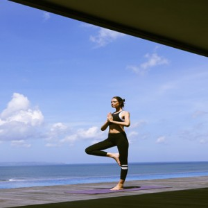 Bali Honeymoon Packages Alila Seminyak Yoga1