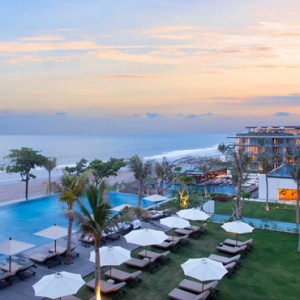 Bali Honeymoon Packages Alila Seminyak Aerial View