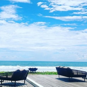 Bali Honeymoon Packages Alila Seminyak Beach Deck