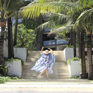 Bali Honeymoon Packages Alila Seminyak Hotel Entrance