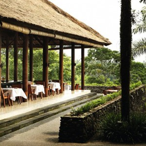 Bali Honeymoon Packages Alila Ubud Plantation Restaurant