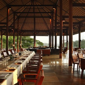 Bali Honeymoon Packages Alila Ubud Plantation Restaurant1