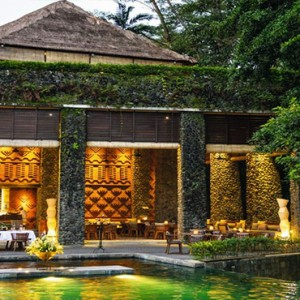 Bali Honeymoon Packages Alila Ubud Restaurant Exterior