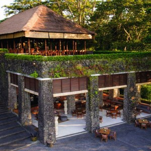 Bali Honeymoon Packages Alila Ubud Restaurant Overview