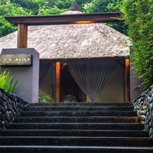 Bali Honeymoon Packages Alila Ubud Spa Entrance