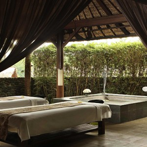 Bali Honeymoon Packages Alila Ubud Spa Treatment Room