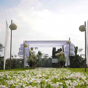 Bali Honeymoon Packages Alila Ubud Ubud Wedding Setup