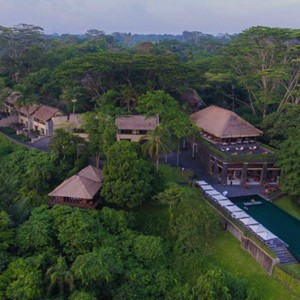 Bali Honeymoon Packages Alila Ubud Aerial View