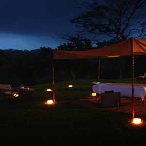 Bali Honeymoon Packages Alila Ubud In Villa Spa Massage At Night