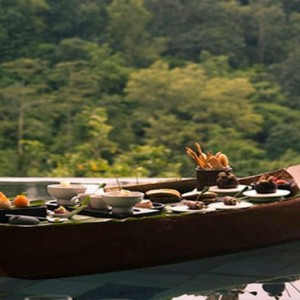 Bali Honeymoon Packages Hanging Gardens Of Bali Floating Breakfast