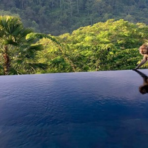 Bali Honeymoon Packages Hanging Gardens Of Bali Panoramic Villa Exterior Pool