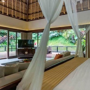 Bali Honeymoon Packages Hanging Gardens Of Bali Presidential Suite