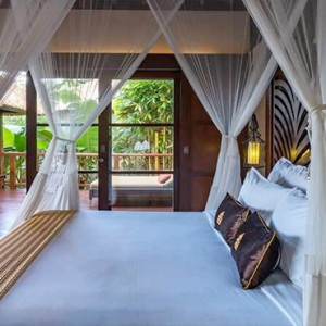 Bali Honeymoon Packages Hanging Gardens Of Bali Riverside Villa Room