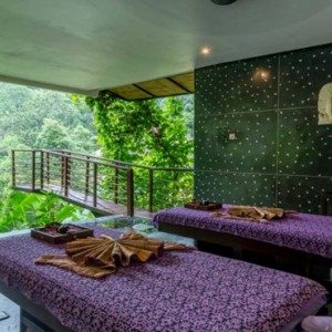 Bali Honeymoon Packages Hanging Gardens Of Bali Spa Suite Treatment Room
