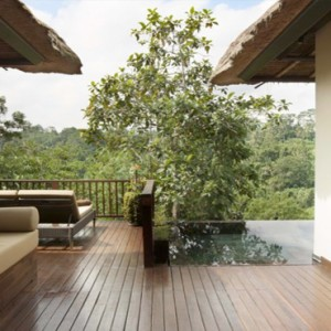Bali Honeymoon Packages Hanging Gardens Of Bali Suite Villa Exterior Terrace Views