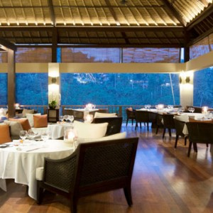 Bali Honeymoon Packages Hanging Gardens Of Bali Three Elements – Kitchen, Lounge & Bar