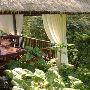 Bali Honeymoon Packages Hanging Gardens Of Bali Outdoor Couple Spa Massage