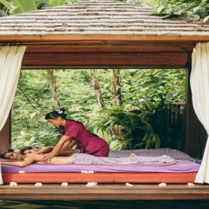 Bali Honeymoon Packages Hanging Gardens Of Bali Outdoor Spa Massage