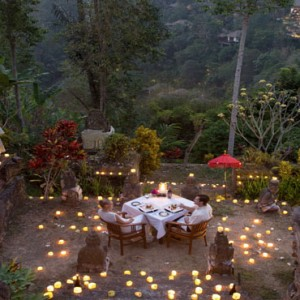 Bali Honeymoon Packages Hanging Gardens Of Bali Romantic Private Dining