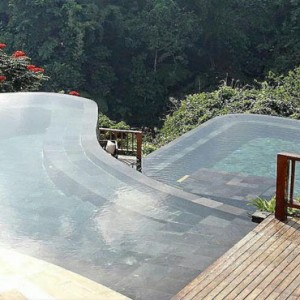 Bali Honeymoon Packages Hanging Gardens Of Bali Women By Pool