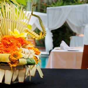 Bali Honeymoon Packages The Elysian Seminyak Balinese Decorations