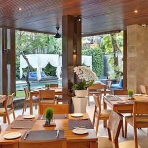 Bali Honeymoon Packages The Elysian Seminyak Rush Bamboo Restaurant