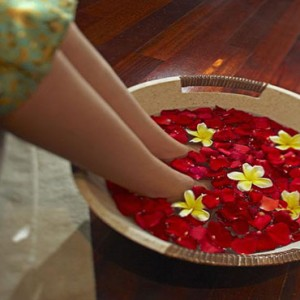 Bali Honeymoon Packages The Elysian Seminyak Spa Foot Massage1