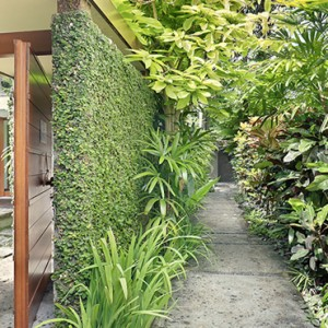 Bali Honeymoon Packages The Elysian Seminyak Villa Entrance