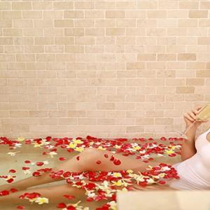 Bali Honeymoon Packages The Elysian Seminyak Women Relaxing In Spa Bath