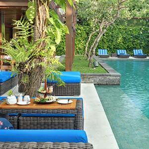 Bali Honeymoon Packages The Elysian Seminyak Afternoon Tea By The Pool