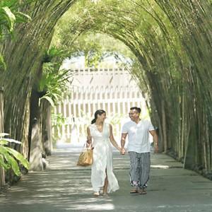 Bali Honeymoon Packages The Elysian Seminyak Hotel Entrance