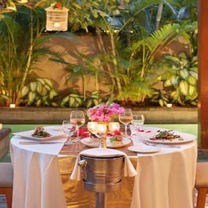 Bali Honeymoon Packages The Elysian Seminyak In Villa Dining