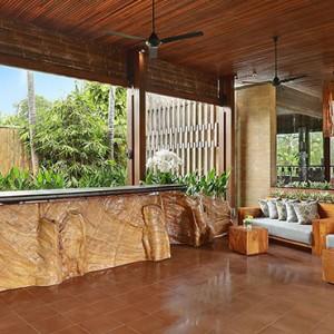 Bali Honeymoon Packages The Elysian Seminyak Spa Reception