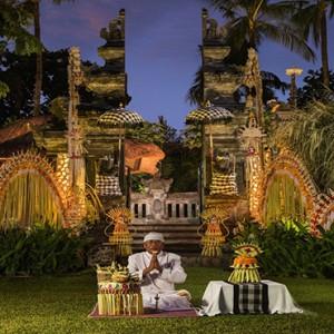 Bali Honeymoon Packages The Laguna Bali Balinese Blessing