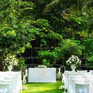 Bali Honeymoon Packages The Laguna Bali Secret Garden Wedding