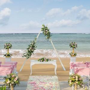 Bali Honeymoon Packages The Laguna Bali Wedding Setup