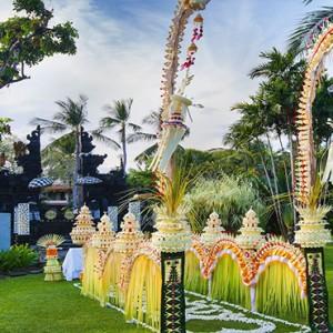 Bali Honeymoon Packages The Laguna Bali Wedding Setup3
