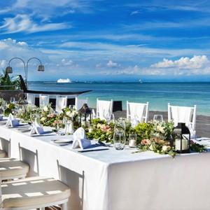 Bali Honeymoon Packages The Laguna Bali Wedding Setup4
