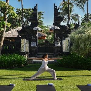 Bali Honeymoon Packages The Laguna Bali Yoga At Garden Temple1