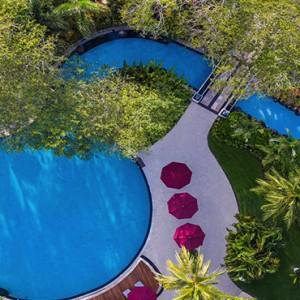 Bali Honeymoon Packages The Laguna Bali Aerial View