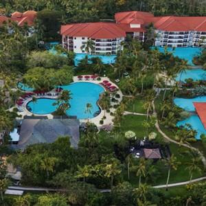 Bali Honeymoon Packages The Laguna Bali Aerial View1