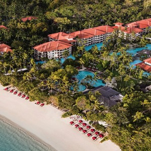 Bali Honeymoon Packages The Laguna Bali Aerial View2