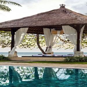 Bali Honeymoon Packages The Laguna Bali Beachfront Spa Gazebo