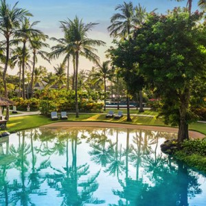 Bali Honeymoon Packages The Laguna Bali Hotel Pool Exterior