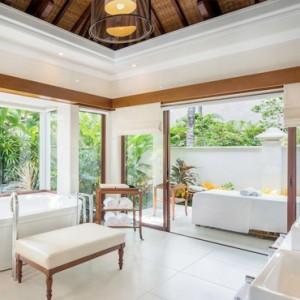 Bali Honeymoon Packages The Laguna Resort & Spa 1 Bedroom Villa Bathroom
